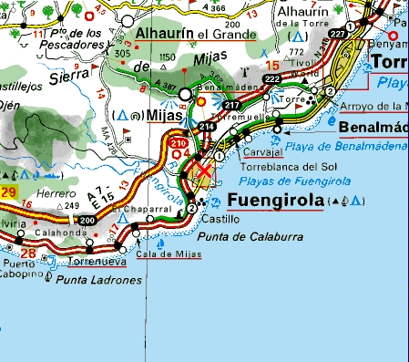 Home Fuengirola Costa Del Sol Large Apartment Rent Los Pacos Los